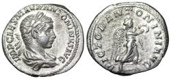 Ancient Coins - Elagabalus VICTOR ANTONINI AVG from Rome