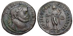 Ancient Coins - Constantius I GENIO from Lyons