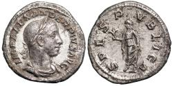 Ancient Coins - Severus Alexander SPES PVBLICA from Rome