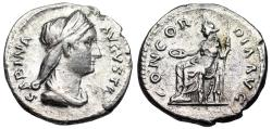 Ancient Coins - Sabina CONCORDIA AVG from Rome