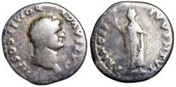 Ancient Coins - Domitian PRINCEPS IVVENTVT from Rome