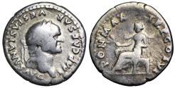 Ancient Coins - Vespasian PON MAX TR P COS VI, Pax from Rome