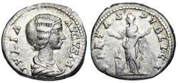 Ancient Coins - Julia Domna PIETAS PVBLICA from Rome