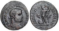 Ancient Coins - Constantius I GENIO from Alexandria… Struck under Domitius Domitianus