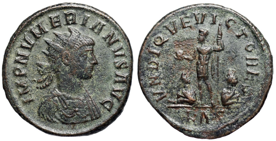 Ancient Coins - Numerian VNDIQVE VICTORES from Rome