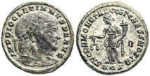 Ancient Coins - Diocletian SACRA MONET from Aquileia