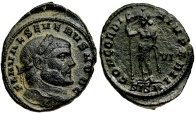 Ancient Coins - Severus II CONCORDIA IMPERII from Siscia