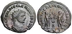 Ancient Coins - Diocletian IOV ET HERCV CONSER AVGG from Antioch