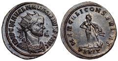 Ancient Coins - Maximianus HERCVLI CONSERVAT from Ticinum