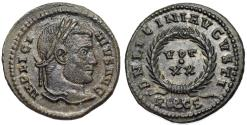 Ancient Coins - Licinius I VOT XX from Rome...EROS cryptogram in mintmark