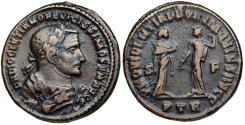 Ancient Coins - Diocletian PROVIDENTIA DEORVM QVIES AVGG from Trier...abdication issue