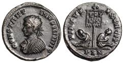 Ancient Coins - Constantine II VIRTVS EXERCIT from London