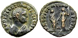 Ancient Coins - Diocletian PROVIDENTIA DEORVM from Alexandria