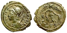 Ancient Coins - Constantinopolis commemorative from Aquileia