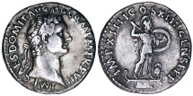 Domitian with Minerva reverse from Rome