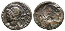 Ancient Coins - Constantinopolis Brockage