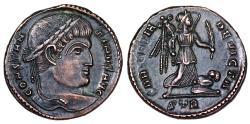 Constantine I SARMATIA DEVICTA from Trier