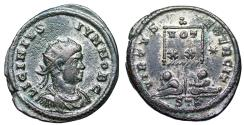 Ancient Coins - Licinius II VIRTVS EXERCIT from Trier...Not in RIC