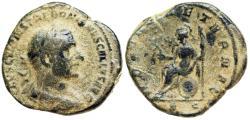 Ancient Coins - Trebonianus Gallus ROMAE AETERNAE sestertius from Rome