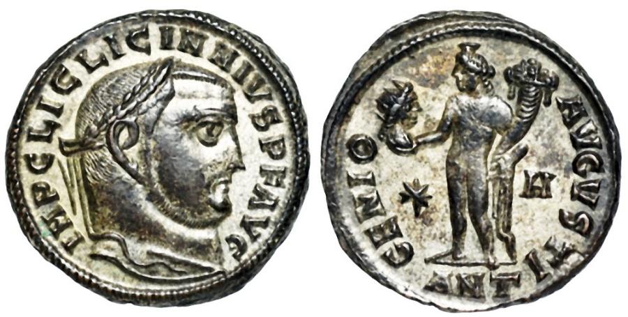 Ancient Coins - Licinius GENIO AVGVSTI from Antioch