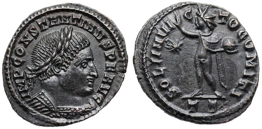 Follis (312-313) Roman Empire CONSTANTINE I THE GREAT, 307