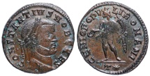 Ancient Coins - Constantius I GENIO POPVLI ROMANI from Rome