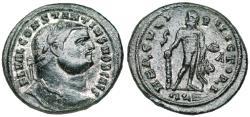 Ancient Coins - Constantius I HERCVLI VICTORI from Alexandria