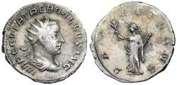 Ancient Coins - Trebonianus Gallus PAX AETERNA from Milan