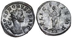 Ancient Coins - Probus FELICIT TEMP from Lugdunum (Lyons)