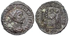 Ancient Coins - Diocletian IOVI from Tripolis...Victory presenting wreath