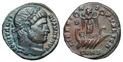 Ancient Coins - Constantine I LIBERTAS PVBLICA from Constantinople