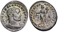 Ancient Coins - Diocletian MONETA SACRA from Trier
