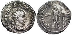 Ancient Coins - Trajan Decius GENIVS EXERC ILLVRICIANI from Rome