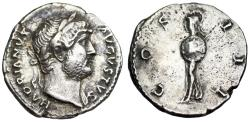 Ancient Coins - Hadrian COS III Minerva from Rome