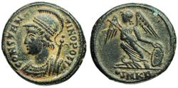 Ancient Coins - Constantinopolis Commemorative from Cyzicus