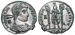 Ancient Coins -  Constantius II CONCORDIA MILITVM from Siscia…struck under Vetranio