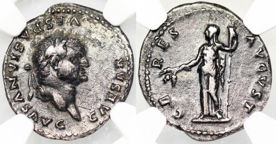 Ancient Coins - Vespasian CERES AVGVST from Rome