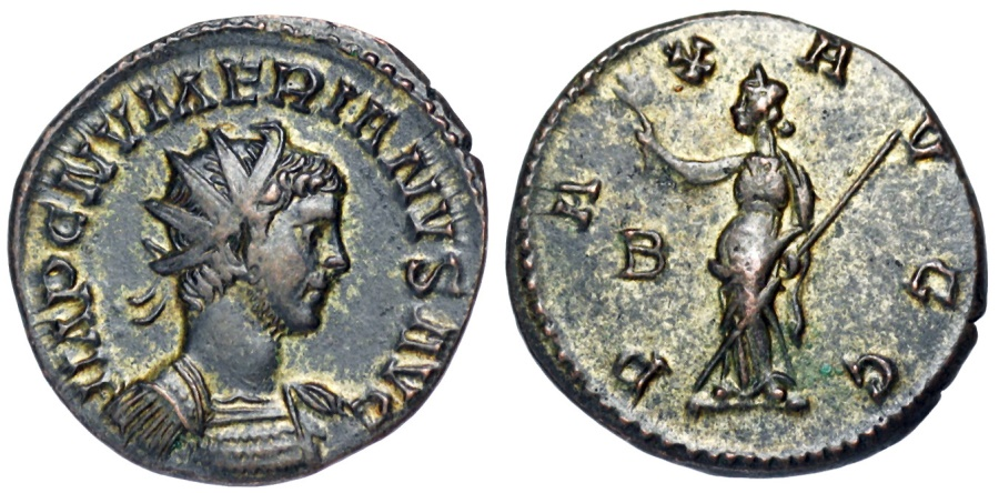 Ancient Coins - Numerian PAX from Lyons