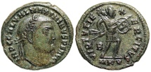 Ancient Coins - Maximinus II VIRTVTI EXERCITVS from Cyzicus…Not in RIC