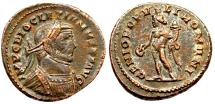 Ancient Coins - Diocletian  GENIO POPVLI ROMANI from  London