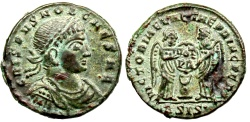 Ancient Coins - Crispus VLPP from Siscia