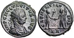Ancient Coins - Tacitus CLEMENTIA TEMP from Tripolis