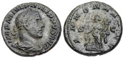 Ancient Coins - Philip I ANNONA from Rome