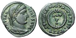 Ancient Coins - Constantine I VOT V from Heraclea...Caesar reverse...mule