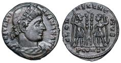 Ancient Coins - Constantine I GLORIA EXERCITVS from Arles
