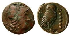 Ancient Coins - Apulia,Teate. Circa 225-200 BC. AE Quincunx