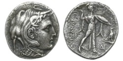 Ancient Coins - Ptolemaic Kings of Egypt, Ptolemy I Soter, 323-305 BC, AR Tetradrachm