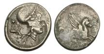 Ancient Coins - Akarnania, Anactorium, 350-300 BC, AR Stater