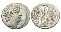 Ancient Coins - Seleukid Kingdom, Philip I Philadelphos, AR Tetradrachm
