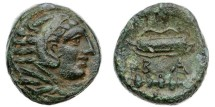 Ancient Coins - Macedon, Alexander the Great, 336-323 BC, AE18